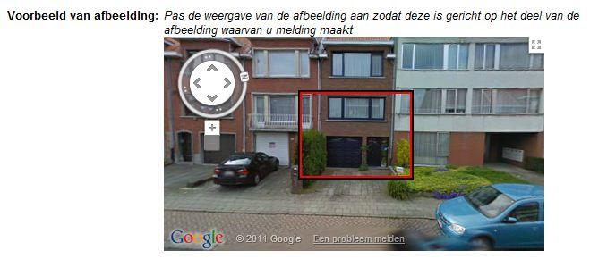 Help ik wil mijn huis niet op google streetview hoe for Huis zichtbaar maken google streetview