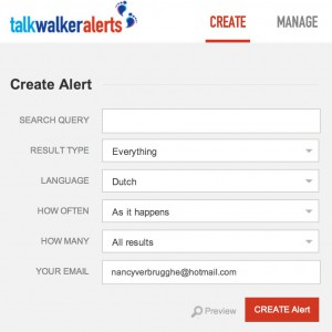 Talk Walker gratis monitoring