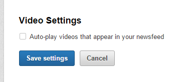 stop autoplay linkedin video